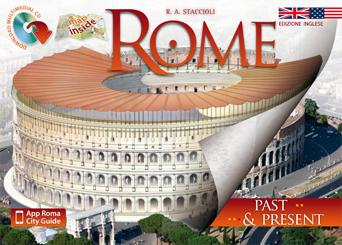 Rome: travel guide book in czech