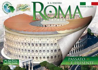 Rome: travel guide book in italian