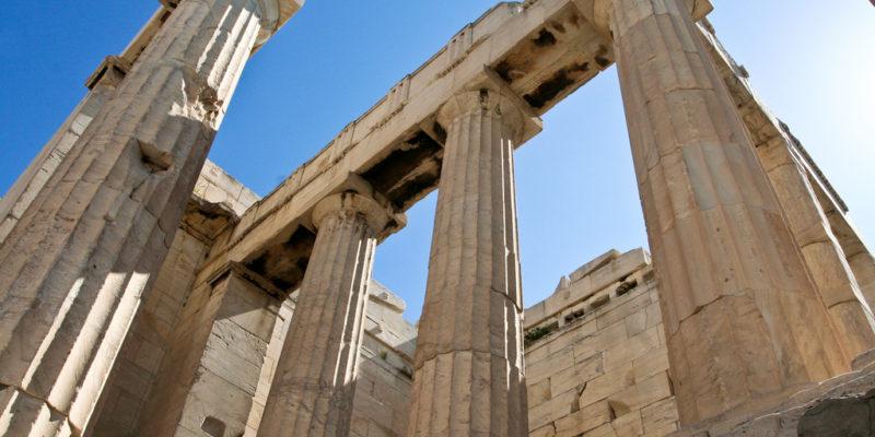 Propylea of Acropolis, Athens
