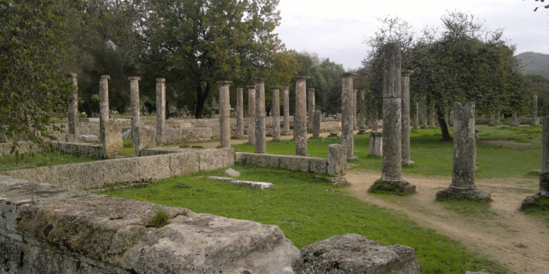 Sanctuary of Olympia, Greece