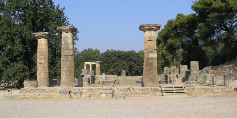 Temple of Hera, Heraion, Ancient Greece
