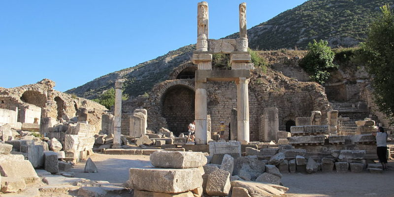 Temple of Domitian , Ephesus,Turkey