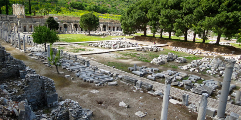 State Agora of Ephesus,Turkey