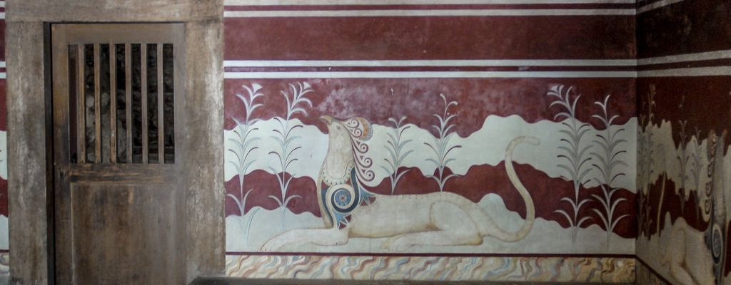 The Palace of Knossos, Crete, Ancient Greece
