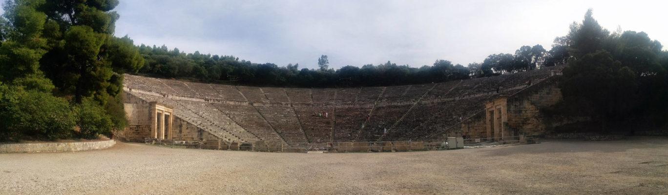 The Teatre of Epidaurus, Epidaurus, Ancient Greece