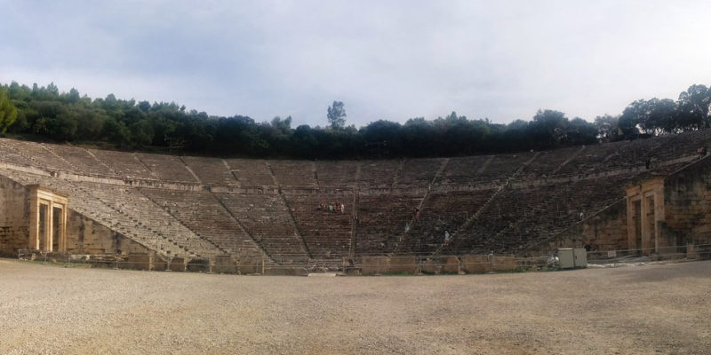 The Teatre of Epidaurus, Epidaurus, Ancient Greece