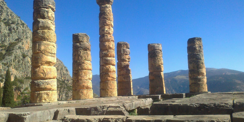 The Oracle of Delphi, Delphi, Ancient Greece