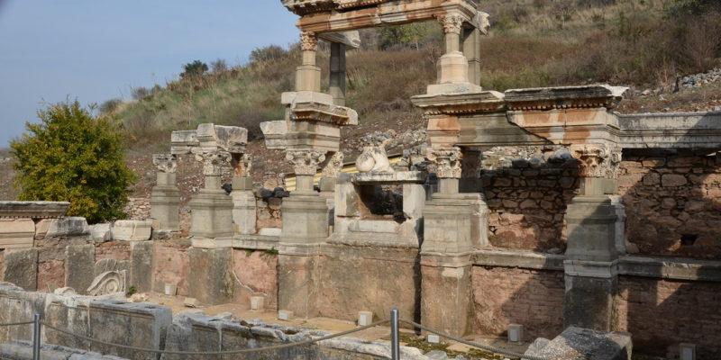 Nymphaeum of Trajan, Ephesus,Turkey