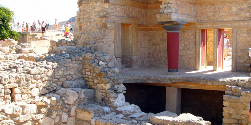 The South Propylaeum, Knossos, Crete, Ancient Greece