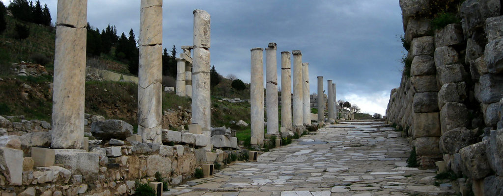 Curetes Street, Ephesus,Turkey