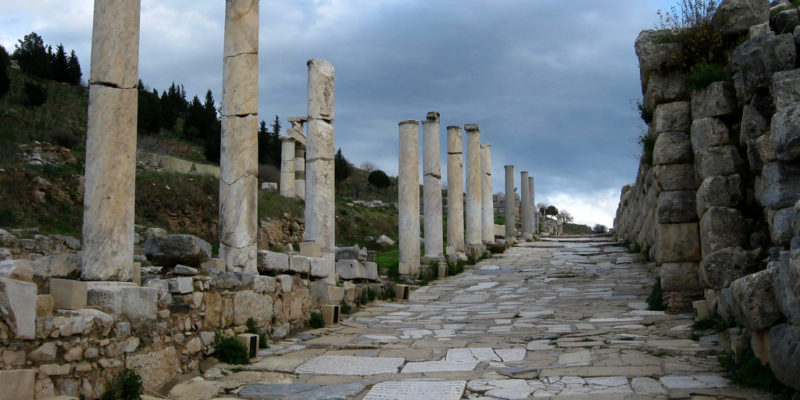 Curetes Street, Ephesus,Turkey