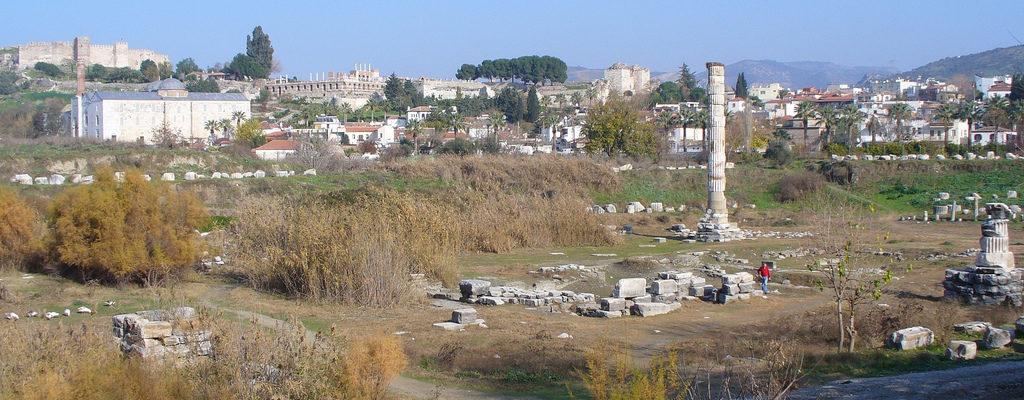 Temple of Artemis at Ephesus,Turkey