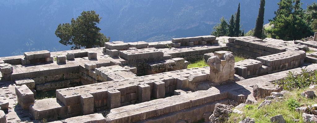 The Sanctuary of Apollo, Delphi, Ancient Greece