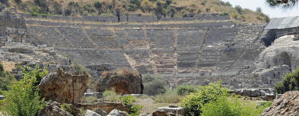 The Grand Theatre of Ephesus, Ephesus, Turkey