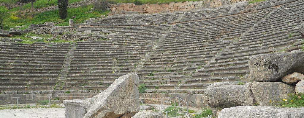 Theatre of Delphi, Delphi, Ancient Greece