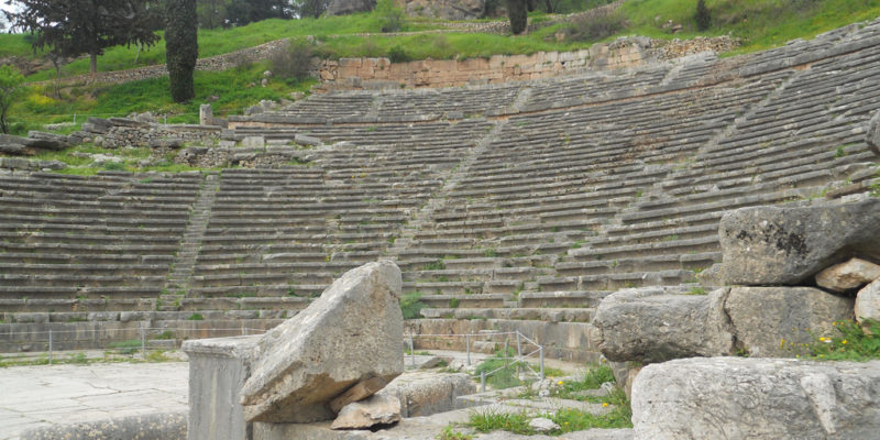 Theatre of Delphi, Delphi, Ancient Greece