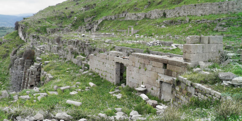 Sanctuary of Demeter, Pergamon, Turkey