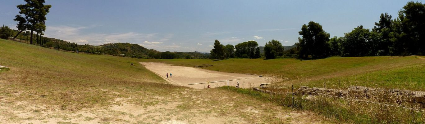 The Stadium of Olympia, Olympia, Ancient Greece