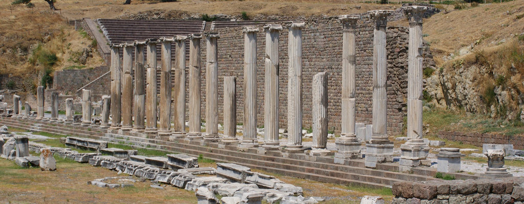 Asklepieion, Asclepion, Pergamon,Turkey