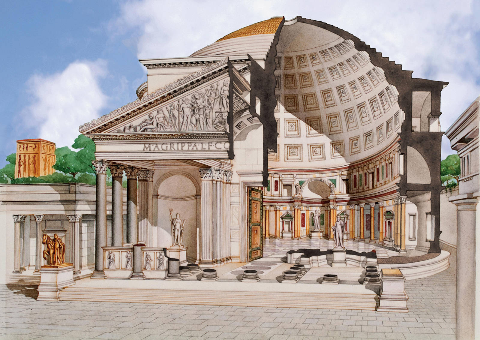 Pantheon History Curious Facts Images Opening Times