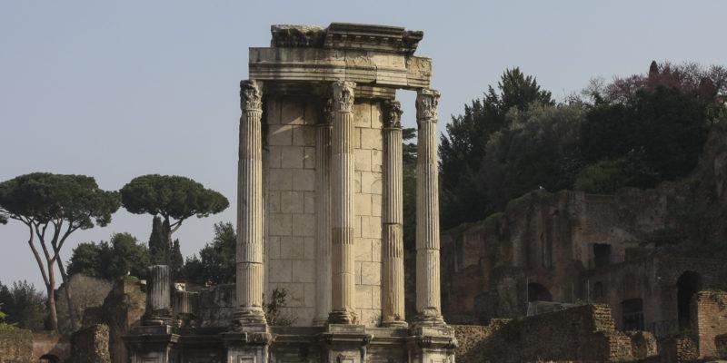 tempio di vesta