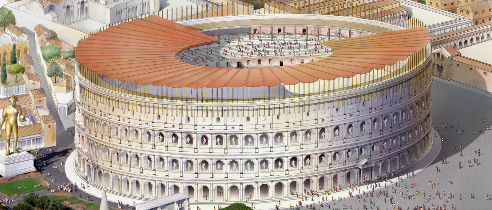 The Beauty Of The Roman Colosseum Italy Steemkr